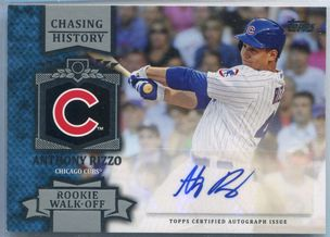 2013 Topps Chasing History Anthony Rizzo Autograph #CHA-AR