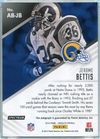 2014 Panini Absolute Football - Absolute Ink Jerome Bettis Autograph #AB-JB #8/10