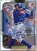 2015 Bowman Topps Archives Signature Series Javier Baez Rookie Autograph #150 #77/99