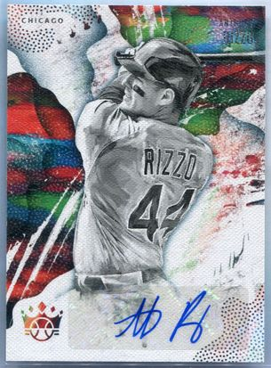 2019 Panini Diamond Kings Anthony Rizzo Autograph #DKS-RZ