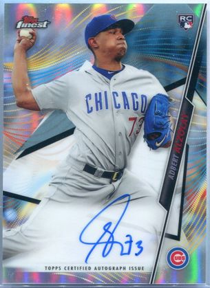 2020 Topps Finest Adbert Alzolay Autograph #FA-AAL