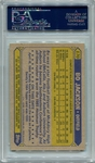 Bo Jackson Rookie PSA/DNA Certified Authentic Autograph - 1987 Topps #170
