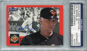 Cal Ripken Jr. PSA/DNA Certified Authentic Autograph - 2000 Fleer Tradition