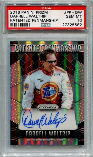 Darrell Waltrip PSA/DNA Certified Authentic Autograph - 2016 Panini Prizm