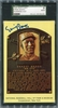 Ernie Banks SGC Certified Authentic Autograph - Hall of Fame Plaque Postcard