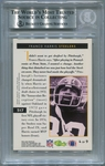 Franco Harris BGS Certified Authentic Autograph - 1993 Pro Line Profiles #517