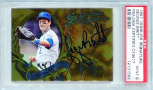 George Brett PSA/DNA Certified Authentic Autograph - 1997 Donruss Signature