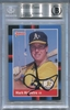 Mark McGwire BGS Certified Authentic Autograph - 1988 Donruss #256