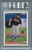 Mike Mussina BGS Certified Authentic Autograph - 1993 Upper Deck