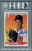 Mike Mussina Rookie BGS Certified Authentic Autograph - 1991 Score