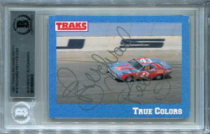 Richard Petty BGS Certified Authentic Autograph - 1991 Traks #16