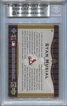 Stan Musial BGS Certified Authentic Autograph - 2001 Upper Deck HOF