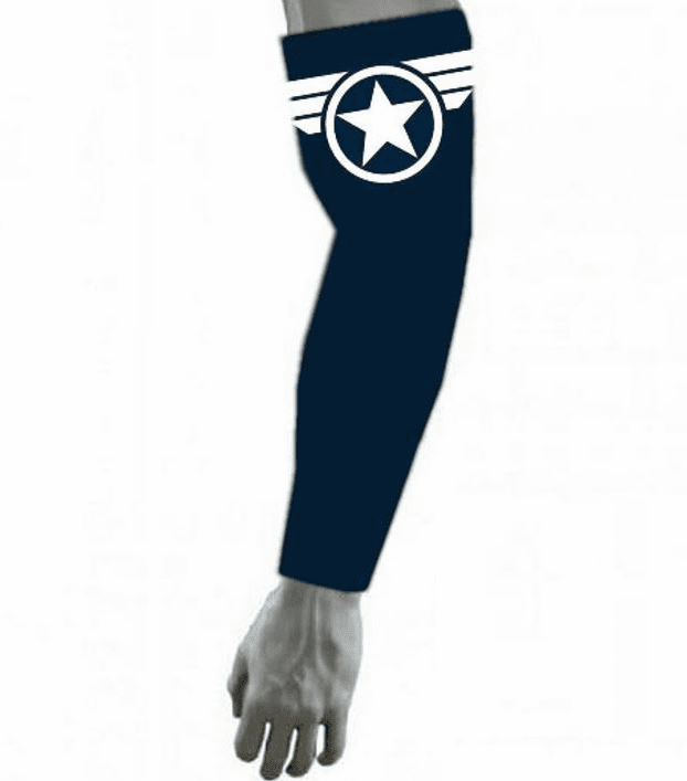 Avengers Infinity War Compression Arm Sleeve Captain America