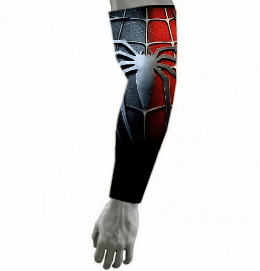 Avengers Infinity War Spiderman Compression Arm Sleeve