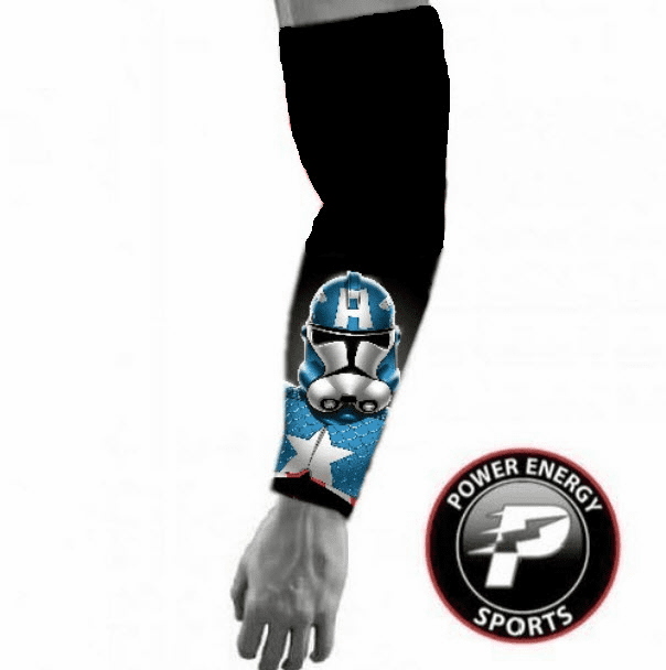 Sports Compression Arm Sleeve Captain America Stormtrooper
