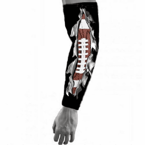 Sports Compression Arm Sleeve - Live and Breathe Football