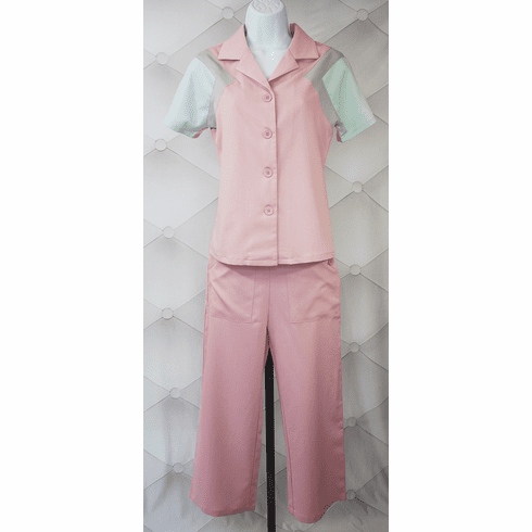 1940s Reproduction Culottes - Rose