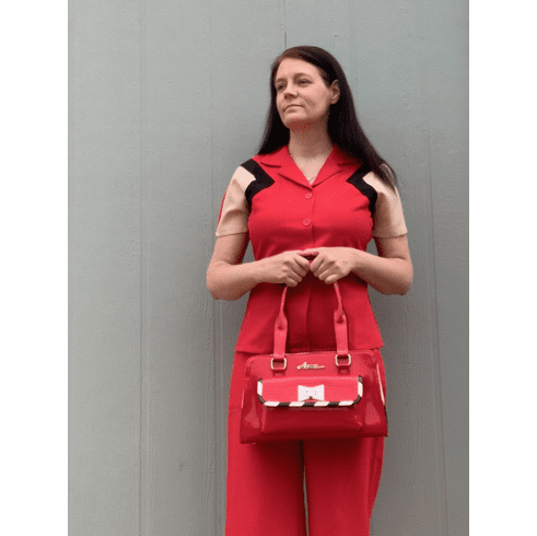 1940s Reproduction Culottes- Red