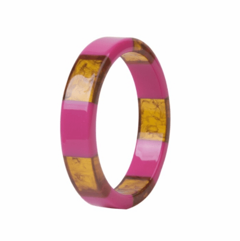 Audrey Purple and Tortoise Spacer