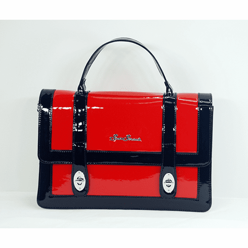 Bettie Bag-Black and Red