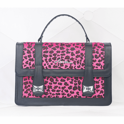 Bettie Bag-Pink Leopard