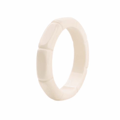 Candy White Bamboo Spacer