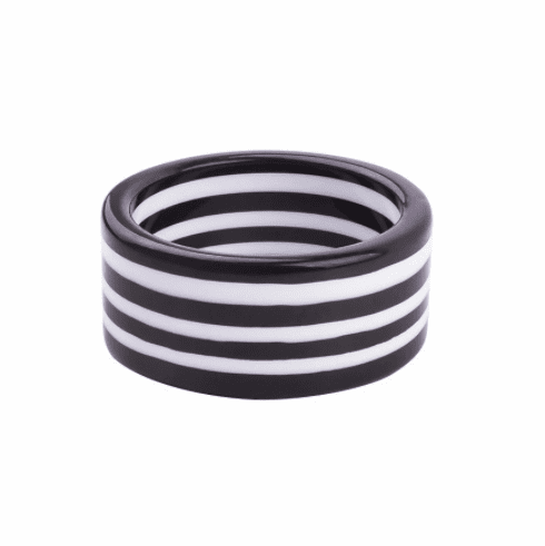 Circus Black and White Super Stripe Cuff
