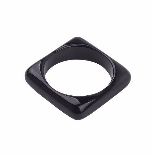 Circus Black Square Spacer