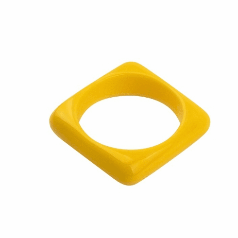 Circus Yellow Square Spacer