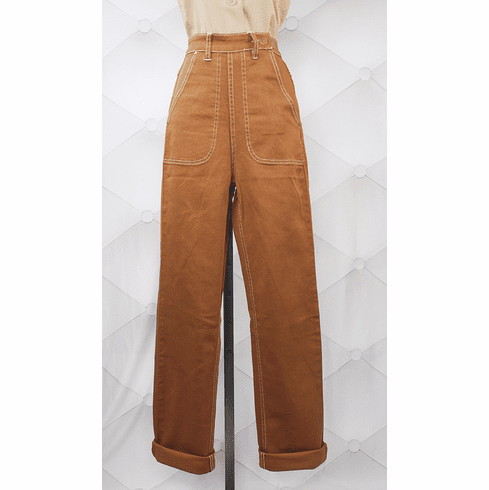 Classic Reproduction Jeans - Brown
