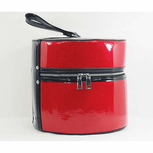 Hat Box - Ruby Red