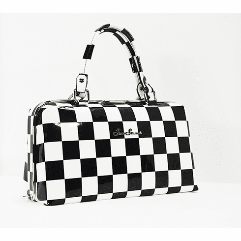 Jetson-Black and White Checkerboard **SOLD OUT**