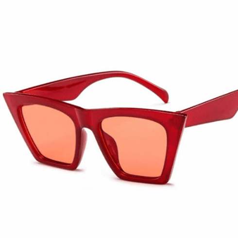 Sunglasses - Red Cat Eye