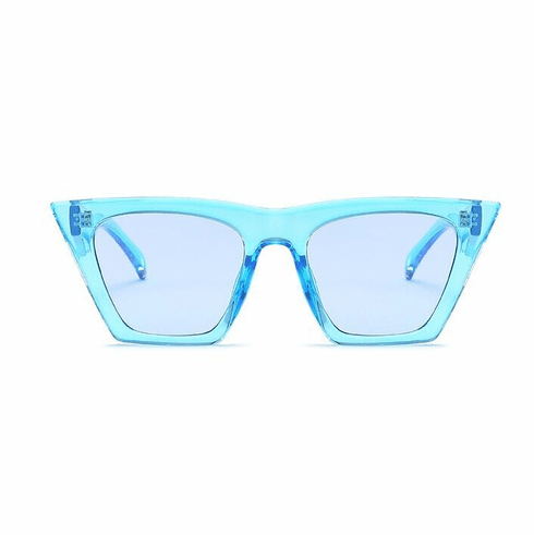 Sunglasses - Blue Cat Eye