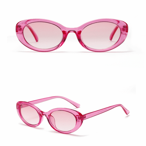 Sunglasses - Pink Oval