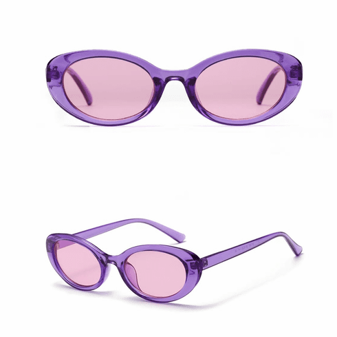 Sunglasses - Purple Oval **SOLD OUT - RESTOCKING SOON**