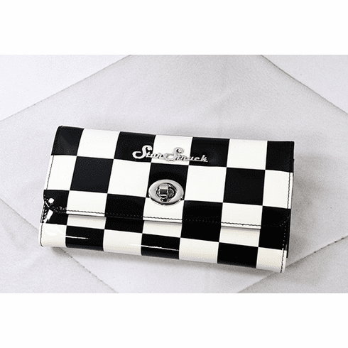 Tri-Fold Wallet - Checkerboard