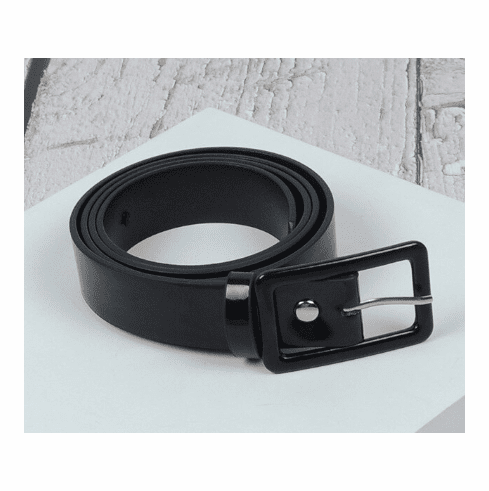 Vintage Inspired Square Shaped Belt - Black **SOLD OUT**