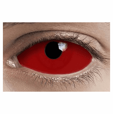 Red Sclera Lens