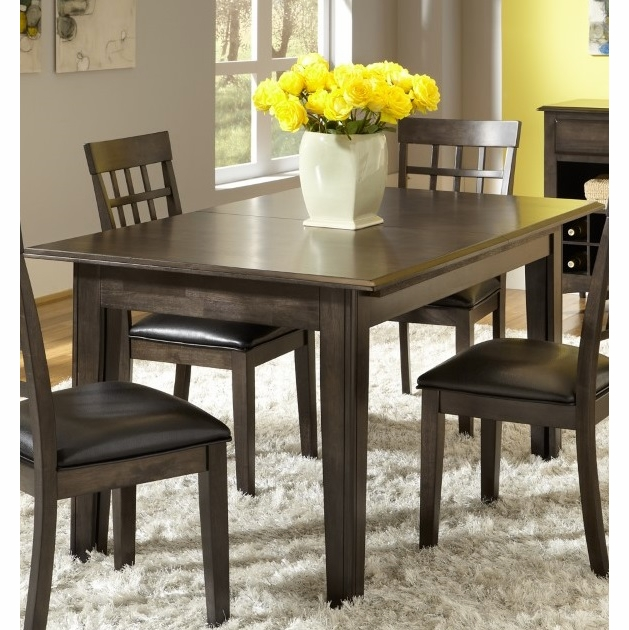 A America Bristol Point 61 132 Rectangular Dining Table With 3 Leaves In Warm Grey Finish Btlwg617l