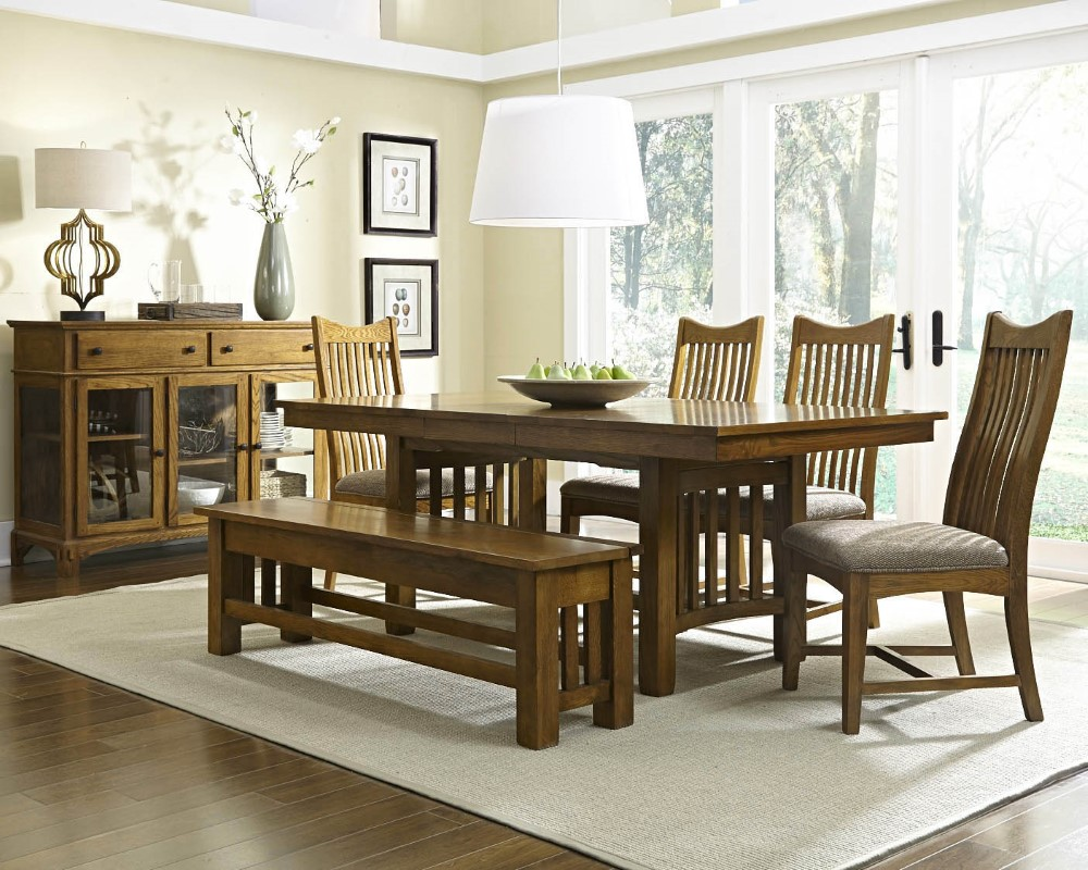 A America Laurelhurst 92 Quot Rectangular Trestle Table With