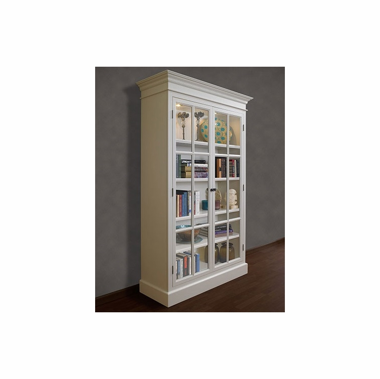 A E Wood Designs French Restoration Provence Display Cabinet W