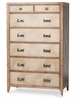 AICO by Michael Amini - Biscayne West 7 Drawer Chest in Sand - 80070-102