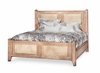 AICO by Michael Amini - Biscayne West King Panel Bed in Sand