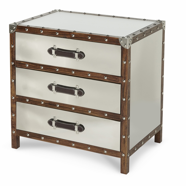 AICO by Michael Amini - Discoveries Trunk 3-Drawer Chest - ACF-TNK-CHST3-04
