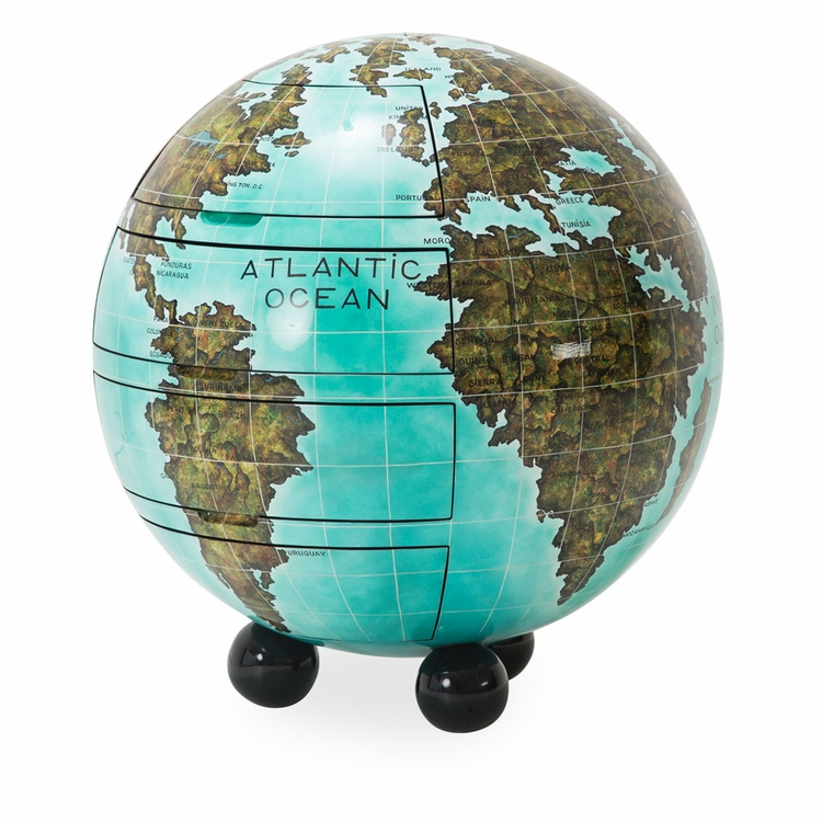AICO by Michael Amini - Illusions Globe Cabinet - FS-ILUSN-047