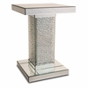 AICO by Michael Amini - Montreal Mirrored Accent Table w/ Crystals - FS-MNTRL224H