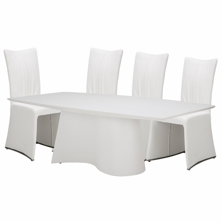AICO by Michael Amini - Trance Matrix Dining Room Set (7 pc)