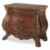 AICO by Michael Amini - Chateau Beauvais Bedside Chest in Noble Bark - 75040-39