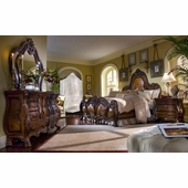 Aico By Michael Amini Lavelle Cal King Wing Mansion Bedroom Set